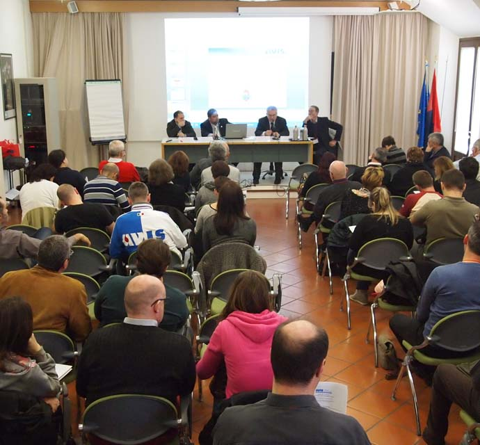 17-18 marzo 2018: formazione AVIS al Centro Universitario di Bertinoro