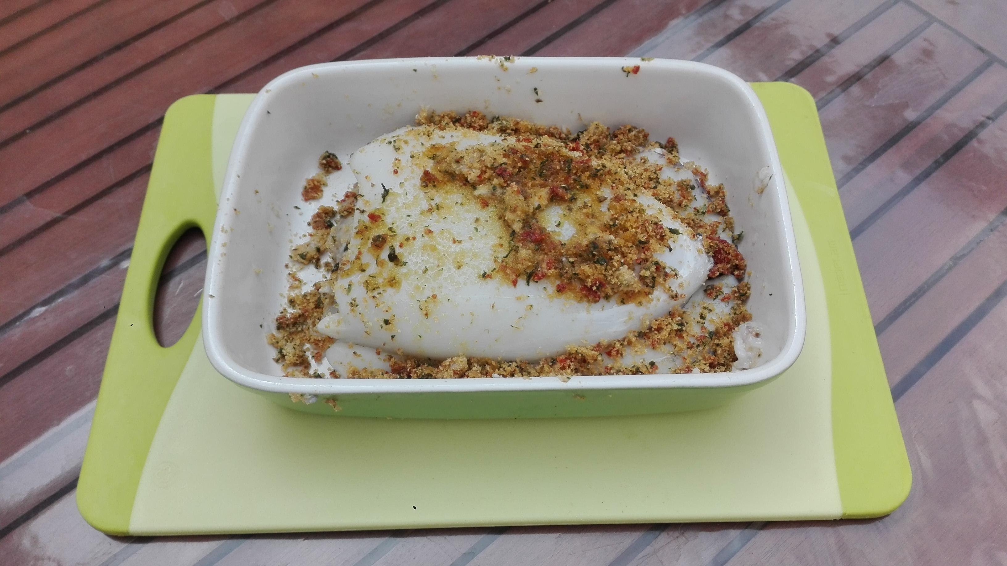 Le ricette di cibo serio seppia ripiena for Ricette di cibo