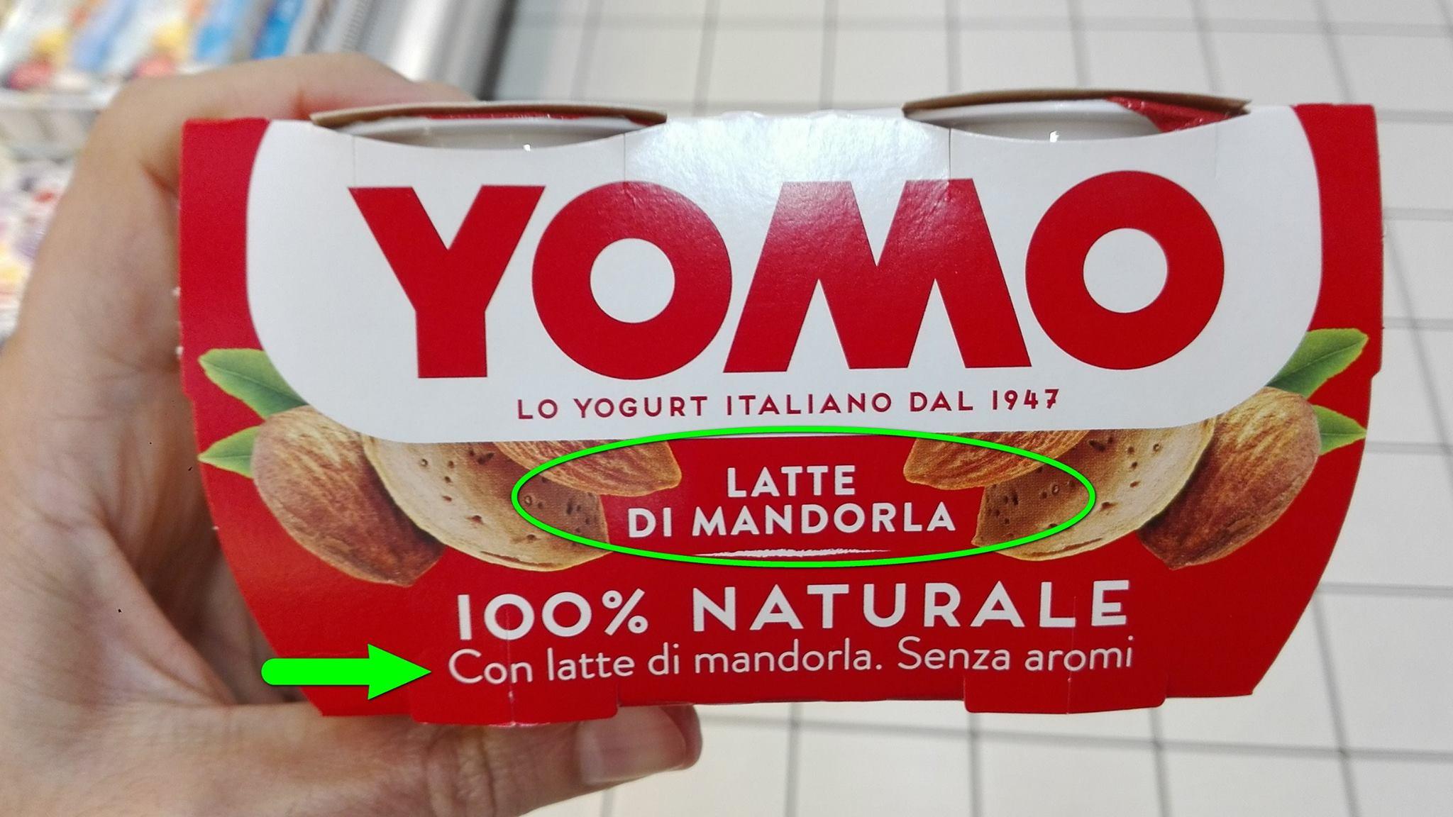 Finti yogurt: un enorme mercato e nessuno controlla Yomo1
