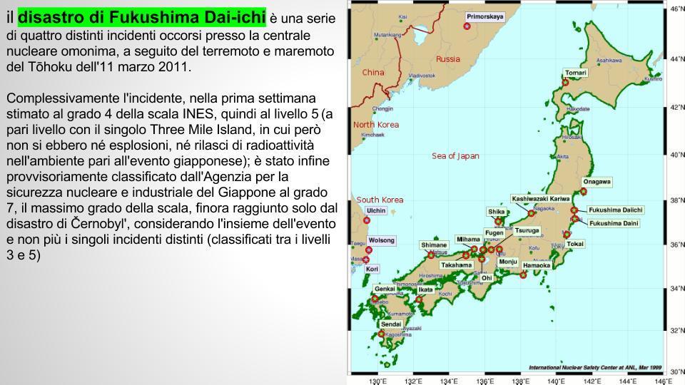 Da dove arriva il pesce che mangiamo e perché è di vitale importanza saperlo! Fukushima