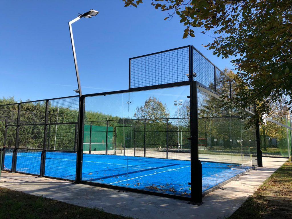 illuminazione campo da tennis