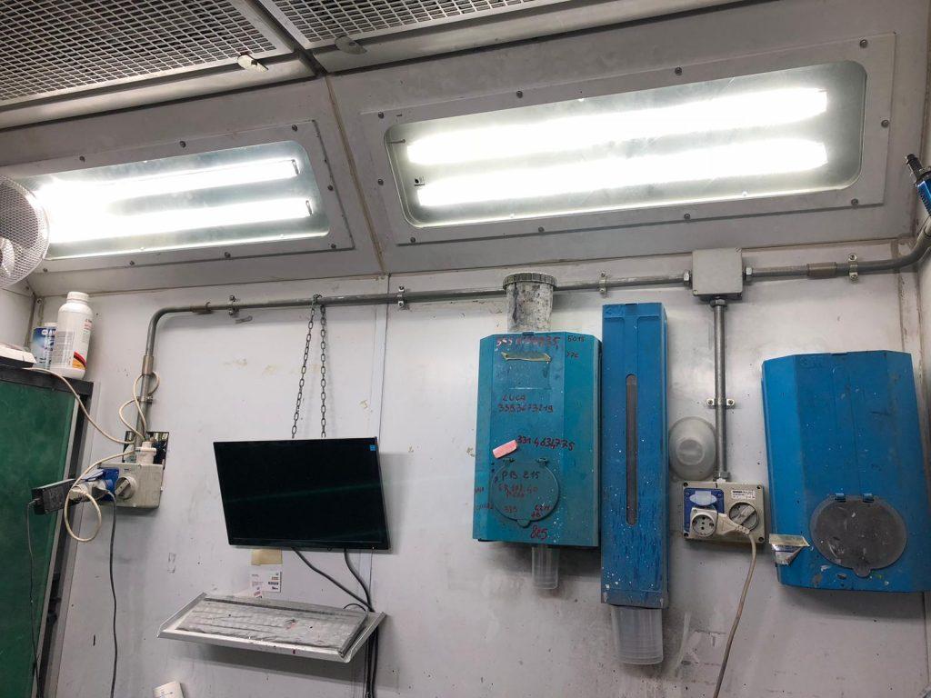illuminazione led alimentata a fotovoltaico