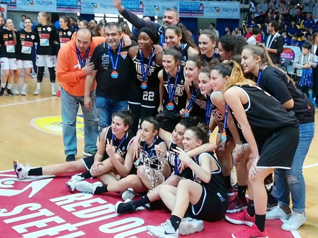 Le Tigers Rosa U20 sono le nuove Vice Campionesse d'Italia