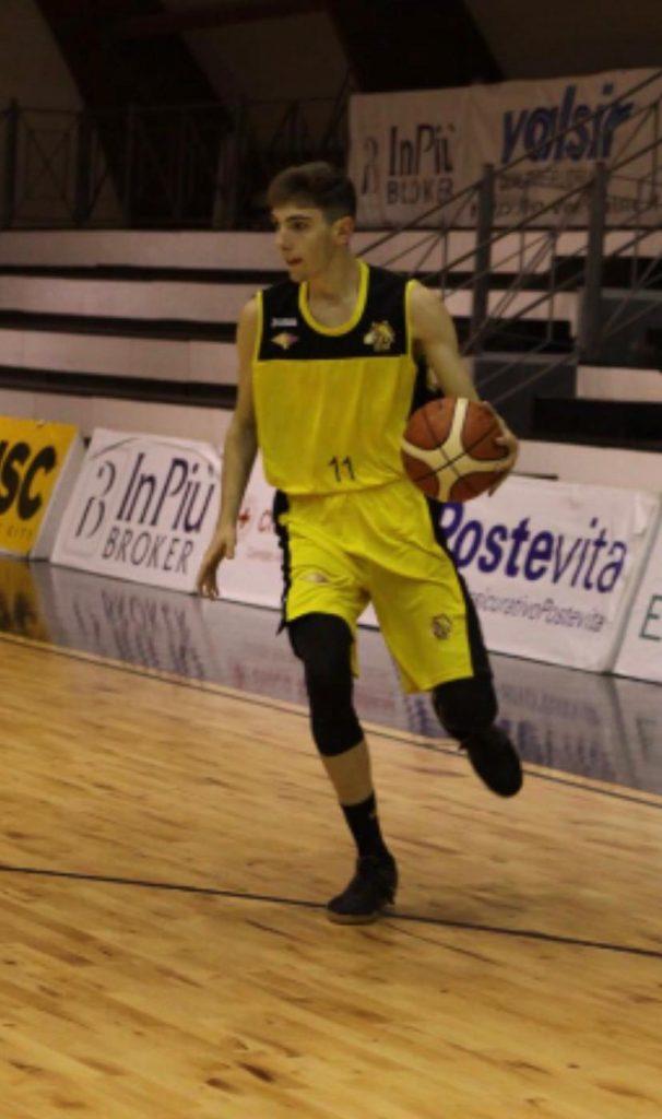 Il giovane talento Giacomo Guidi nel roster della Amadori