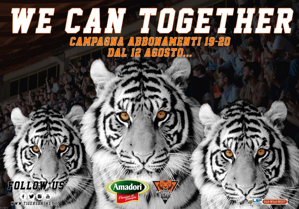 """We Can Together"", al via la campagna abbonamenti della Amadori"